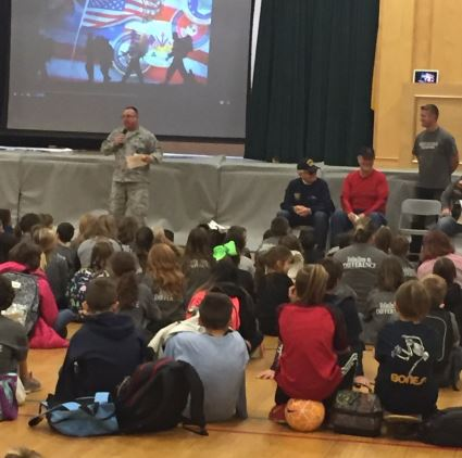 Veteran's Day at Gibbsboro School